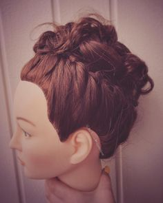 We are coming up to confirmation time here in Norway. Many want a pretty updo. I love playing with finding new updos. We Are Coming, Confirmation, Updos, Norway, Ear, My Love, Pretty, Up Dos, Up Hairstyles