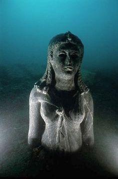 grieks egypte baai aboukir  verzonken stad  thonis-heraklion