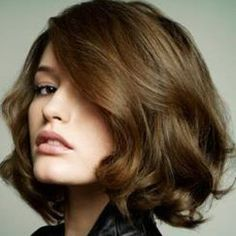Image result for blow dry short hair