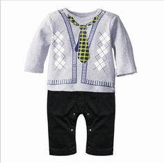 Infant Baby Boys Girls Long Sleeve Romper Bodysuit Rooster Love and My Heart Unisex Button Playsuit Outfit Clothes