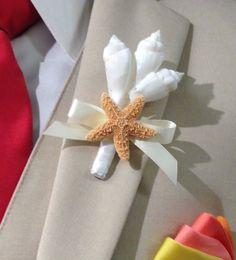 Plage mariage coquillage et étoile de mer par SeashellCollection
