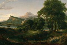 Thomas Cole Arcadia painting