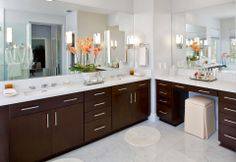 My brother, ALEX STEVENS, won 1st place for the NKBA 2012 People's Choice Award & 2nd for the whole competition for designing AND creating/building this bathroom! ~Jaynee:)  Pic #1