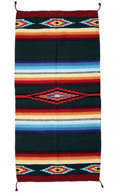 Our Saltillo Hawkeye All-Purpose Rugs are intricately woven with accents of bright colors. These weavings can be used as a wall hanging, area rug, table displays, and so much more. A beautiful addition to your home! SIZE: X X x Available in More Designs! Southwest Rugs, Unique Flooring, Traditional Rugs, Hawkeye, Accent Rugs, Floor Rugs, Bohemian Rug, Purpose, Area Rugs