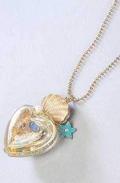 Mermaid Necklace Betsey Johnson
