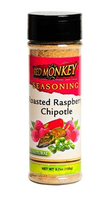 The monkey didn't make this blend to melt off your taste buds, but he certainly threw in some spice! The spicy chipotle pepper is balanced with the sweet freshness of raspberry to create a rub that makes food exciting. $4.99