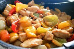 Kurczak z orzechami nerkowca Cashew Chicken, Wok, Pasta Salad, Ethnic Recipes, Crab Pasta Salad