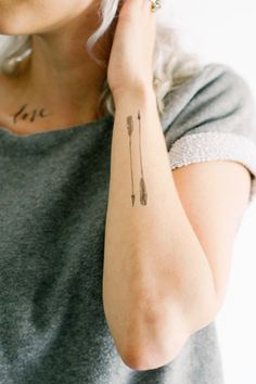 3-pack of Arrow Temporary Tattoos