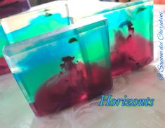 Sapone transparent homemade