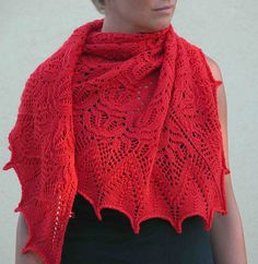 Free Pattern: Percy Shawl by Sanne Kalkman