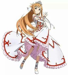 Princess Asuna...? dunno how I feel about it...