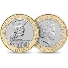 The 100th Anniversary of the First World War - Outbreak 2014 UK £2 Brilliant Uncirculated Coin - £10.00 http://www.royalmint.com/shop/The_100th_Anniversary_of_the_First_World_War_Outbreak_2014_UK_2_pound_Brilliant_Uncirculated_Coin