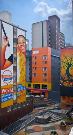 The Grove in Braamfontein, Johannesburg, South Africa African Countries, Countries Of The World, Study Pictures, Architecture Interiors, Pretoria, Airline Tickets, Beaches In The World, Modern Buildings, Wooden Furniture