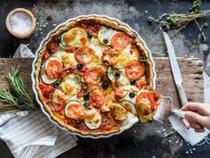 Vegetarische Tarte provençale