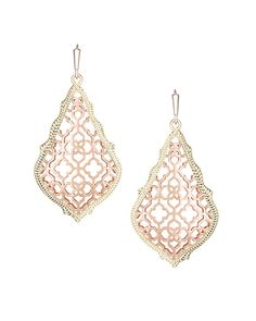 Addie Earrings in Rose Gold - Kendra Scott Jewelry. Coming July 15!