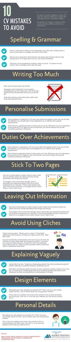 The Only Résumé Graphic You Need to Get Hired High school - avoiding first resume mistakes