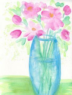 Happy Day by Deborah Mores Art