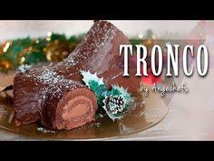 Tronco de Navidad de Chocolate – Angechefs Easy Dinner Recipes, Breakfast Recipes, Easy Meals, Dessert Recipes, Desserts, Non Alcoholic, Christmas Themes, Frugal, Food And Drink
