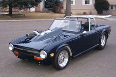 Ed Olson's 1969 Triumph TR6