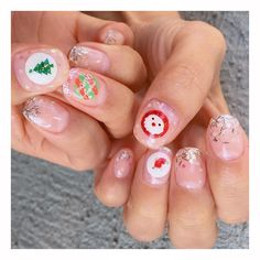Diy Nails, Cute Nails, Chistmas Nails, Work Inspiration, Manicures, Nailart, Merry Christmas, Nail Designs, Paint