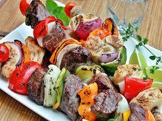 Espetadas Mistas de Carne Grelhadas - Mixed Grilled Meats Skewers | Receitas e Sabores do Mundo