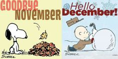 Goodbye november.... welcome december