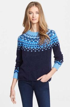 Joie Deedra Fairisle Sweater on shopstyle.com | WARM FUZZIES ...
