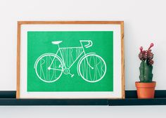 Ride your bike to work / Green