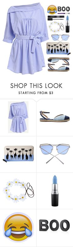 """20.04.17-2"" by malenafashion27 ❤ liked on Polyvore featuring Kate Spade, MAC Cosmetics, Christian Dior and Crate and Barrel"
