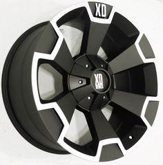 4Pcs 18x9 BLACK KMC XD SERIES XD803 WHEELS 5x139.7 5x150 Toyota Tundra #KMC