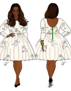 Trendy fashion style plus size curvy fashionista shape Plus Size Art, Moda Plus Size, Curvy Fashion, Trendy Fashion, Womens Fashion, Trendy Clothing, Fashion Fall, Plus Size Fashion For Women, Plus Size Women