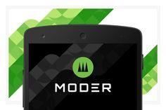 Moder EPS vector logo design by FineOrigins on @creativemarket