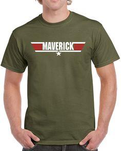 Air Force T-Shirt Top Gun T-Shirt  Tom Cruise Kult,Maverick Shirt Geschenk U.S