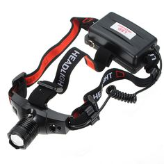 Sale 26% (12.39$) - Bike Bicycle XP-G R5 7w Zoomable LED Headlamp Headlight Flashlight