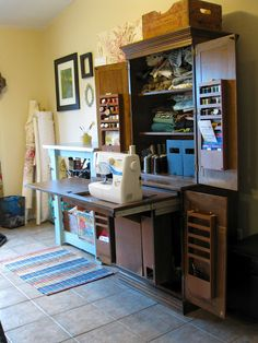 Sewing cabinet...I want it!!