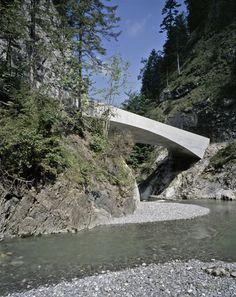 Schanerloch Bridge by Marte Marte Architects