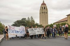 More than 500 Stanford University students, faculty and staff members walked out of classrooms and ducked out of jobs Tuesday in a protest of the policies of Donald Trump, the latest in a wave of Bay Area and national demonstrations against the president-elect.  Some of the Stanford dissidents, though, came with a concrete demand for the university's administrators: investigating the possibility of the South Bay campus serving as a sanctuary against the sort of millions of deportations…