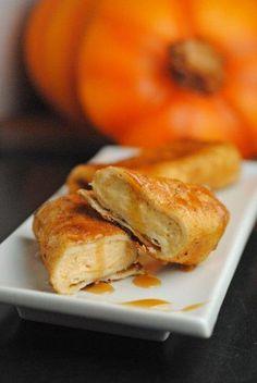 DIY Pumpkin Cheesecake Chimichangas Cheesecake Recipes