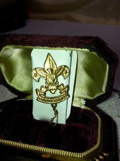 Boy Scouts of America Vintage Be Prepared  by ScarlettsFancies, $9.00
