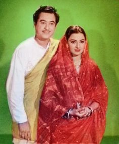 Bengali singer/actor Kishore Kumar with Tanuja Bollywood Cinema, Bollywood Actors, Kishore Kumar, Bollywood Pictures, Indian Music, Vintage Bollywood, 80s Movies, Music Film, Metal Roof