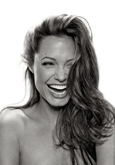 Capture those real moments  A laugh is amazing Angelina Jolie