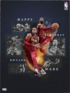 Join us in wishing 3-time NBA Champion, 12-time All-Star Dwyane..