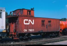 CN 79021          CN Wood Caboose Date: 9/2/1979 	Location: Capreol, ON CA Country Flag   Map Show Capreol on a rail map 	Views: 254 	Coll...