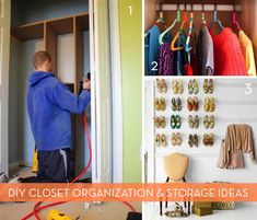 Roundup: 7 Fun and Functional DIY Closet Projects