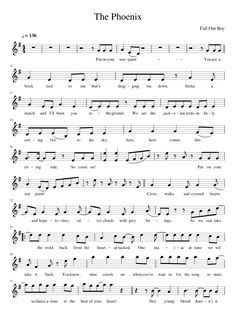 "I will be translating this for flute so I can play it for my twin and be like ""forever the biggest fall out boy fan"""