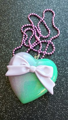 Sweet Lolita Jewelry  Pastel Goth Bow by DreadfulDarlingArt