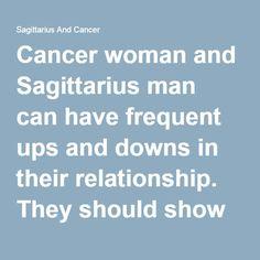 cancer and sagittarius relationship