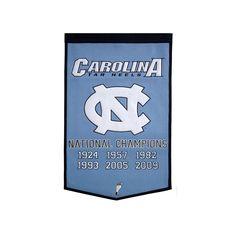 9c35c423b6b North Carolina Tar Heels Dynasty Banner