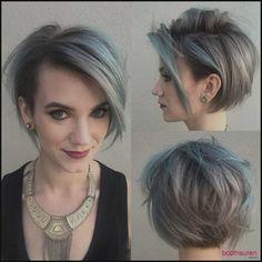 Trendy Muss Versuchen Pixie Bob Haarschnitt Ideen Neueste Moderne ... | Einfache Frisuren