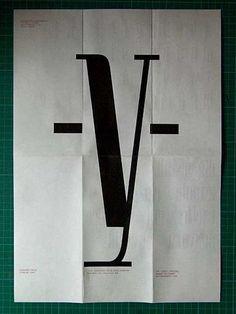 Graphic design Typographic Alphabet Letters Y